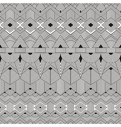 Seamless tribal pattern abstract geometric vector
