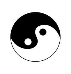 Sign yin and yang 2505 vector