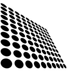 Black and white dots vector