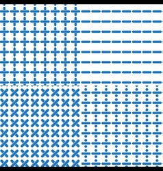 Mathematical Symbol Seamless Pattern vector image