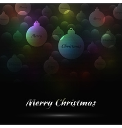 Merry Christmas Bakcground vector image vector image