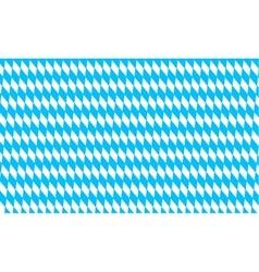 Oktoberfest pattern with rhombus background vector image