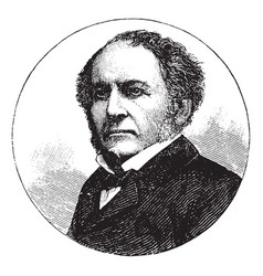 William e gladstone vintage vector