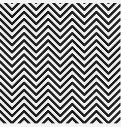 zig zag seamless geometric pattern vector image vector image