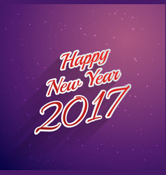 Happy new year 2017 text style background vector