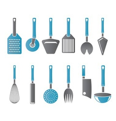 Different kind of kitchen accessories vector