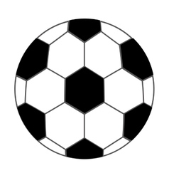 Soccer ball isolated icon design vector