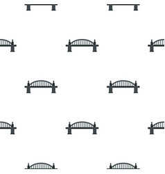 Bridge pattern seamless vector