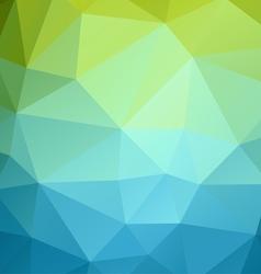 Poligonal color background vector image