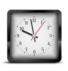 Sqaure clock vector