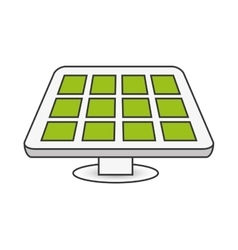 Solar panel energy design vector