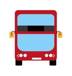 Modern london bus vector