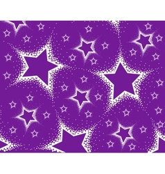 background from stars vector image
