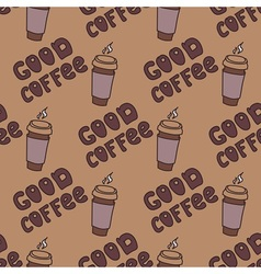 Good coffe vector
