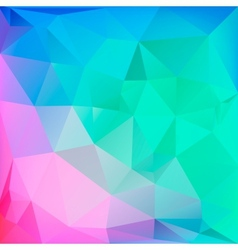 Abstract polygonal background for web design vector image vector image
