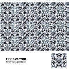 Black-white pattern 8 vector image vector image