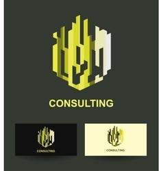 Business icon design template vector