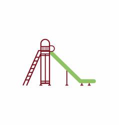 Childrens slide vector
