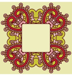 decorative design element vector image