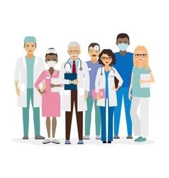 Medical team vector