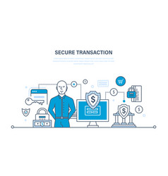 Payments security of deposits and information vector