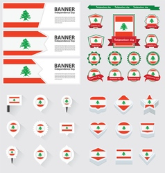 Set lebanon vector