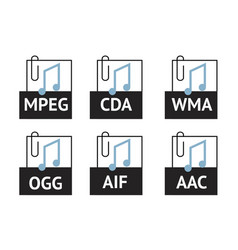 Audio file-02 vector