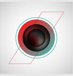 Black bubble badge vector