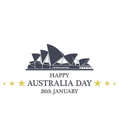 Independence Day Australia vector image