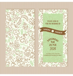 Invitation set vector
