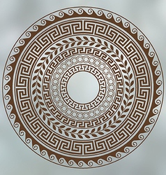 Ancient greek art vector