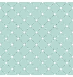 White and black veil seamless pattern on turquoise vector
