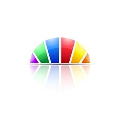 Modern dome logo icon concept vector