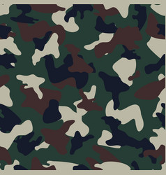 camouflage seamless color pattern vector image