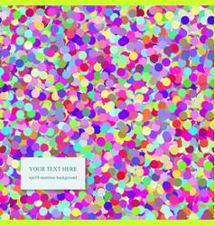 Seamless confetti pattern vector