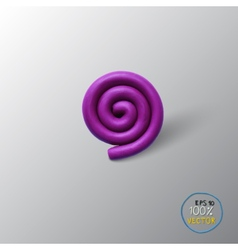 Spiral background object vector