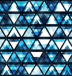 Technology triangle seamless pattern vector