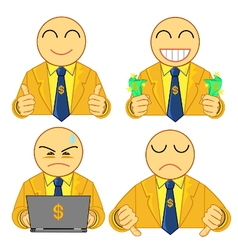 Businessman symbol 01 vector