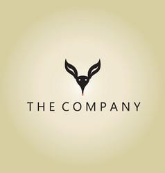 Kangaroo logo ideas design vector