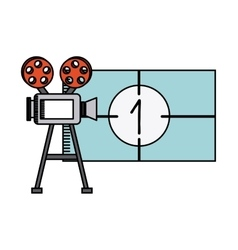 movie and cinema design vector image