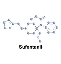 Sufentanil opioid drug vector