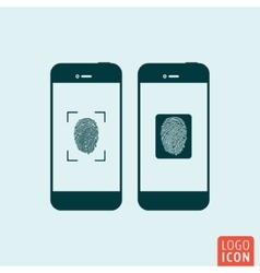 Smartphones icon isolated vector image