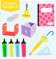 School supplies6 vector