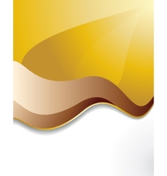 Sunrays and waves vector