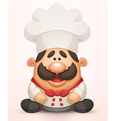 Cute Chef vector image vector image