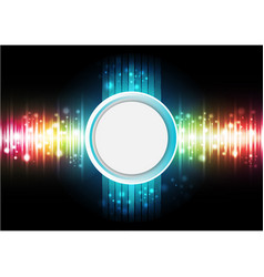 Technology digital background vector
