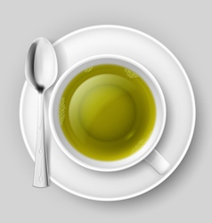 Tea drinking vector