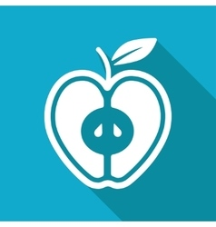 Apple icon eps10 vector