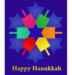 Hanukkah vector image vector image