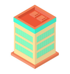 Isometric office building vector